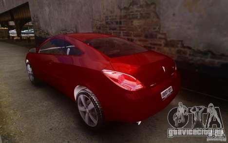 Pontiac G6 для GTA 4 вид сзади слева