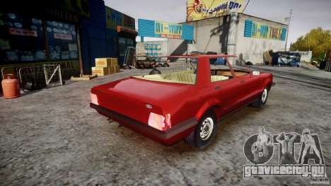 Ford Taunus для GTA 4 вид изнутри