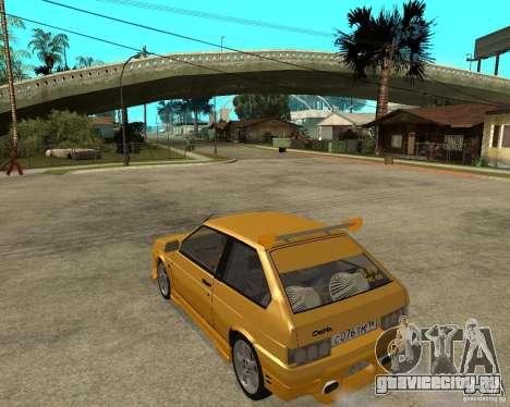 ВАЗ 2108 Юкка спорт для GTA San Andreas вид слева