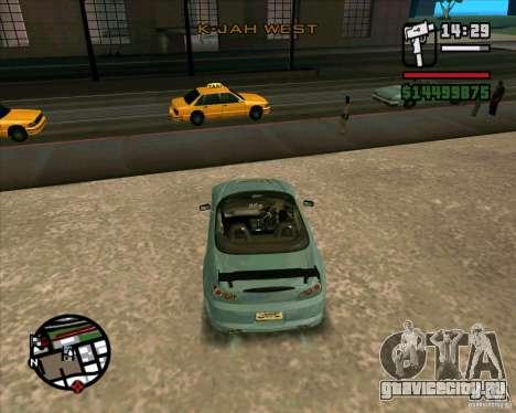 Honda S2000 для GTA San Andreas вид справа