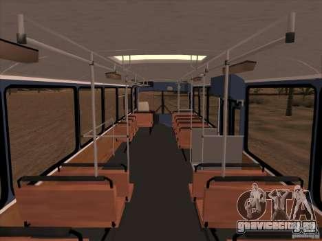 MAN SL200 Exclusive v.1.00 для GTA San Andreas вид сверху