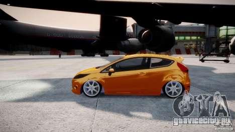 Ford Fiesta 2012 для GTA 4 вид справа