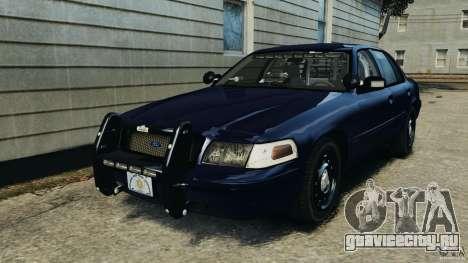 Ford Crown Victoria Police Unit [ELS] для GTA 4
