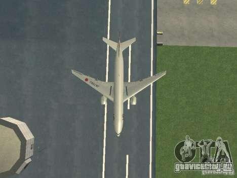 Boeing 777-200 Japan Airlines для GTA San Andreas вид сбоку