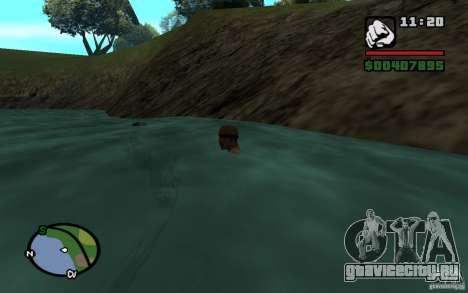Приливы и отливы для GTA San Andreas третий скриншот