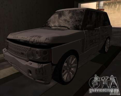 Land Rover Range Rover Supercharged для GTA San Andreas вид сзади