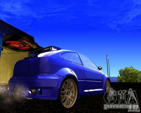 Ford Focus ST для GTA San Andreas вид слева