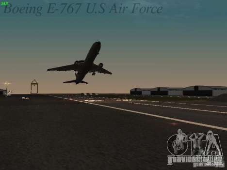 Boeing E-767 U.S Air Force для GTA San Andreas