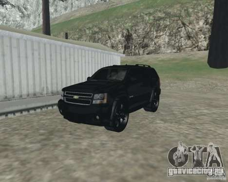 Chevrolet Tahoe BLACK EDITION для GTA San Andreas