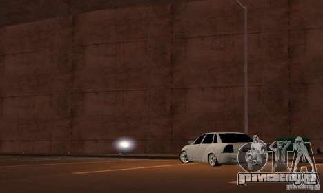 Лада Приора v.2 для GTA San Andreas вид слева