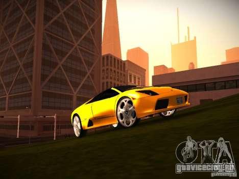 ENBSeries by GaTa для GTA San Andreas третий скриншот