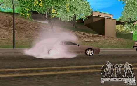Новая Elegy для GTA San Andreas вид изнутри