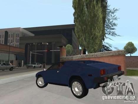 Lamborghini Jalpa P350 1984 v1.1 для GTA San Andreas вид слева