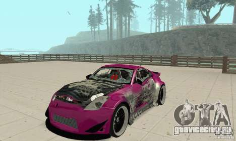 Nissan 350Z Tuning для GTA San Andreas вид сбоку