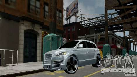 Audi Q7 для GTA 4 вид слева