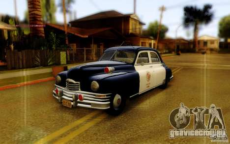 Packard Touring Police для GTA San Andreas