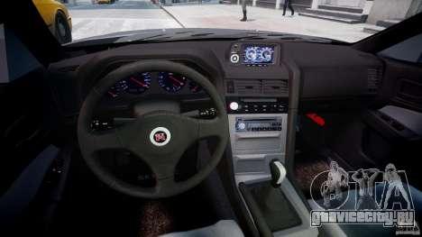 Nissan Skyline GT-R 34 V-Spec для GTA 4 вид сзади