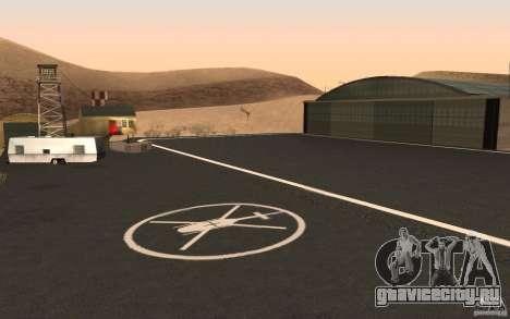 New Verdant Meadows Airstrip для GTA San Andreas четвёртый скриншот