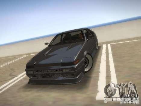 Toyota Sprinter Trueno AE86 для GTA San Andreas