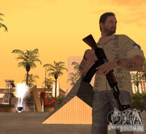 Франк Вудс из Call of Duty Black Ops для GTA San Andreas