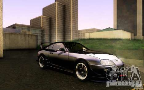 Toyota Supra D1 1998 для GTA San Andreas вид изнутри