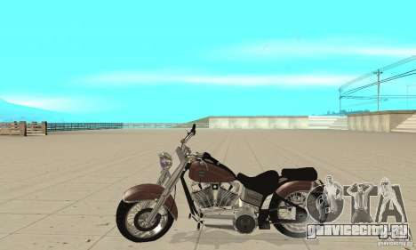 GTAIV Bobber для GTA San Andreas вид слева