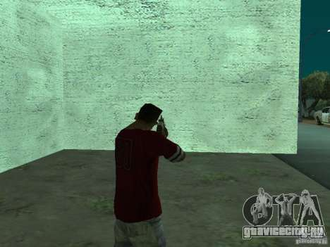 FN Scar-L HD для GTA San Andreas четвёртый скриншот