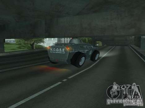 APC из GTA TBoGT IVF для GTA San Andreas вид сверху
