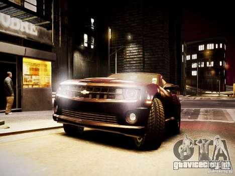 Chevrolet Camaro SS 2010 для GTA 4