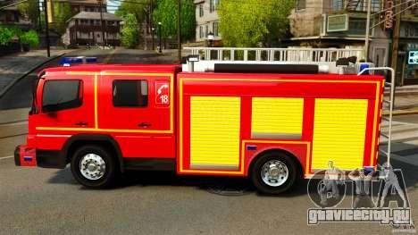 Mercedes-Benz Atego FPTGP Sapeurs Pompiers ELS для GTA 4 вид слева