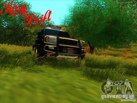 Toyota Land Cruiser v100 для GTA San Andreas вид сзади