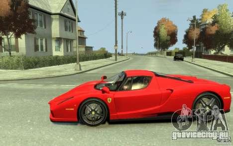 Ferrari Enzo [EPM] v1 для GTA 4 вид слева
