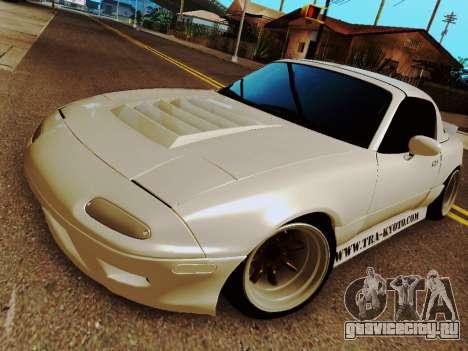 Mazda MX-5 Miata Rocket Bunny для GTA San Andreas