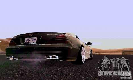 Mercedes-Benz SL65 для GTA San Andreas вид справа
