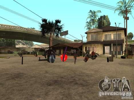 Оружие для GTA San Andreas второй скриншот