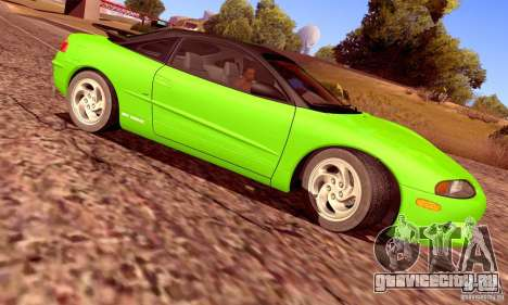 Eagle Talon TSi AWD 1998 для GTA San Andreas вид изнутри