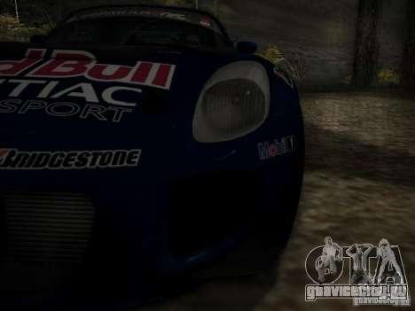 Pontiac Solstice Redbull Drift v2 для GTA San Andreas вид сбоку