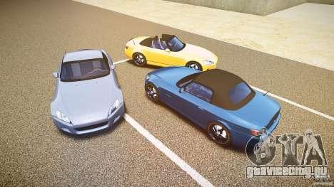 Honda S2000 v2 2002 для спокойной езды для GTA 4 двигатель