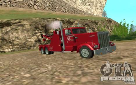 Kenworth Towtruck для GTA San Andreas