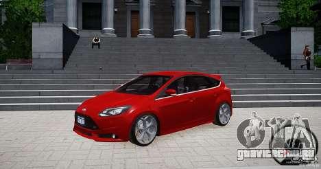 Ford Focus ST 2012 для GTA 4