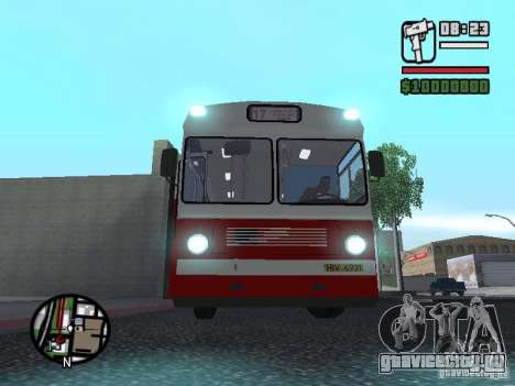 Ikarus Ik4 для GTA San Andreas вид сзади слева