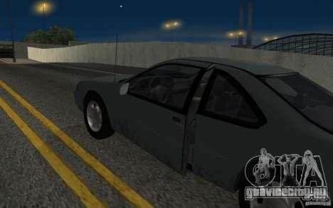 Ford Thunderbird 1993 для GTA San Andreas вид изнутри