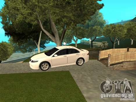 Honda Accord Type S 2003 для GTA San Andreas вид сзади слева