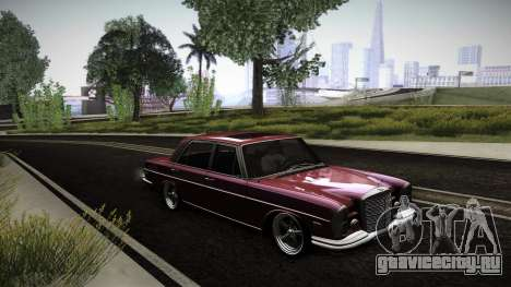 Mercedes Benz 300 SEL - Custom RC3D Edit для GTA San Andreas вид снизу