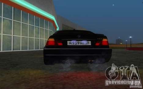 BMW M3 E46 для GTA San Andreas вид сверху