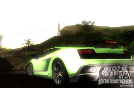 Lamborghini Gallardo LP570-4 Superleggera для GTA San Andreas вид слева