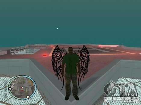 Wings - Крылья для GTA San Andreas второй скриншот