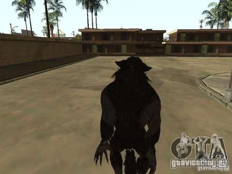 Werewolf from The Elder Scrolls 5 для GTA San Andreas третий скриншот