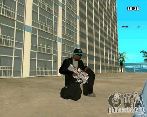 Chrome Weapon Pack для GTA San Andreas четвёртый скриншот