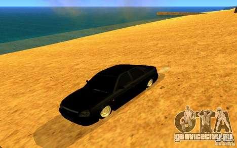 ВАЗ 2170 LIGTI tuning для GTA San Andreas вид сзади слева